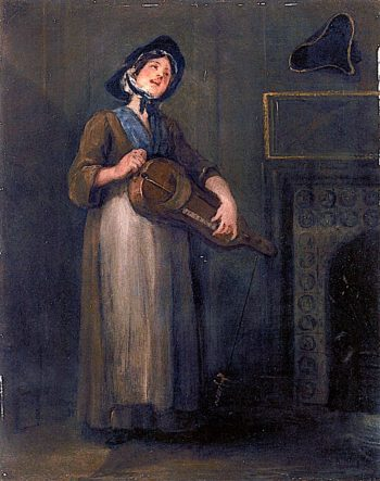 The Savoyard Girl | William Hogarth | oil painting