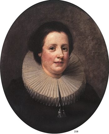 Mrs. Mary Lewis | William Hogarth | oil painting