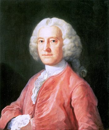 Samuel Martin Esq. MP | William Hogarth | oil painting