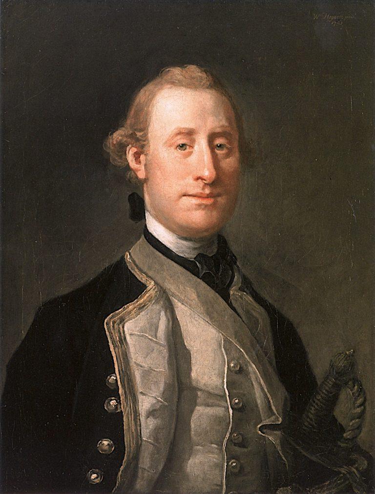 Captain Sir Alexander Schomberg | William Hogarth | oil painting