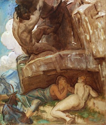 Study for Acis and Galatea | John Singer Sargent | oil painting