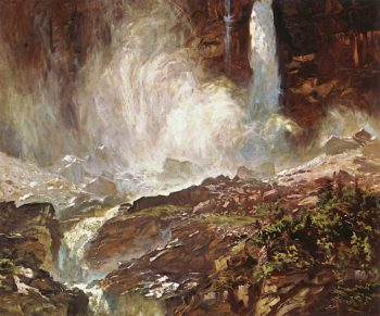 Yoho Falls | John Singer Sargent | oil painting
