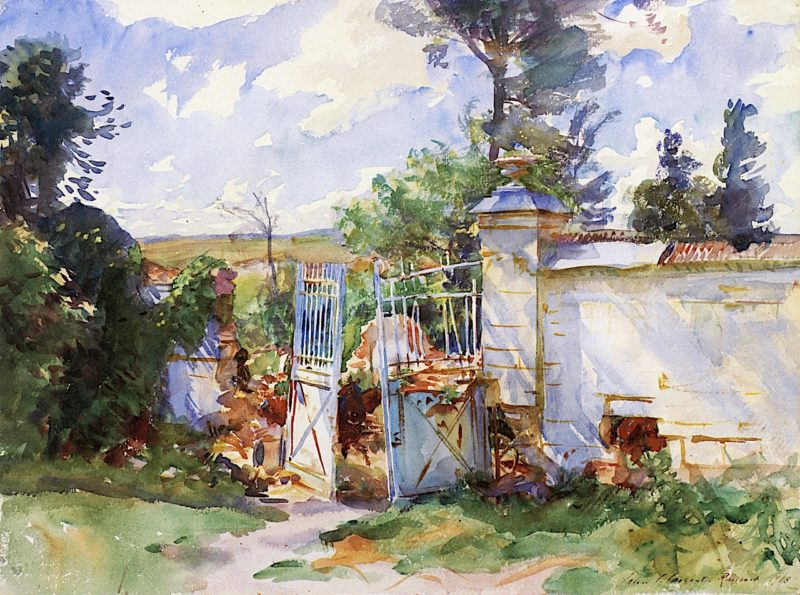 The Gates of a Château