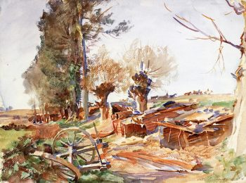 Old Bivouacs | John Singer Sargent | oil painting
