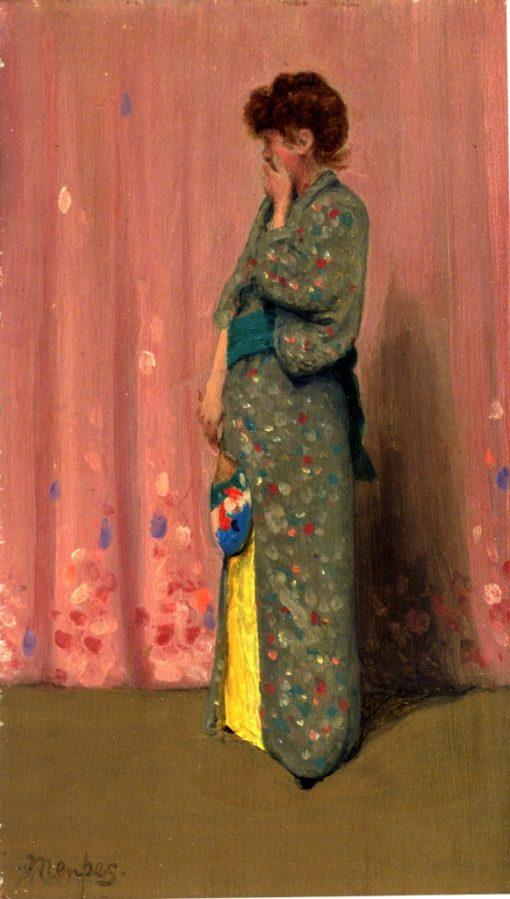 Dolce far niente | Mortimer Menpes | oil painting