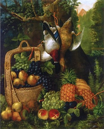 Still Life with Fruit and Game | Charles Storer | oil painting