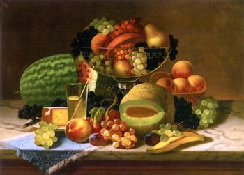 Bountiful Still Life | Carducius Plantagenet Ream | oil painting