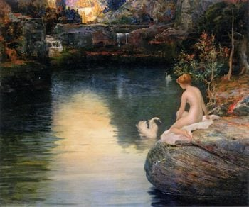 Pool of My Imagination | Charles Frederick Naegele | oil painting