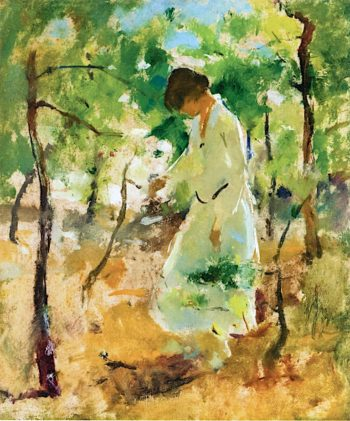 Edge of the Woods   Charles Webster  Hawthorne   oil painting
