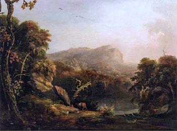 Franconia Notch | Charles Codman | oil painting