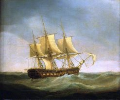 The East Indiaman Saint Vincent Saving the Crew of the East Indiaman Ganges