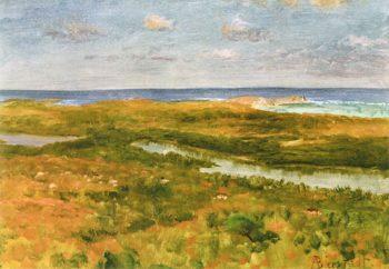 On the Pacific Coast   Albert Bierstadt   oil painting