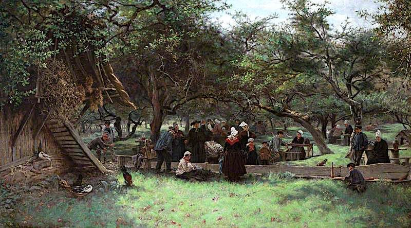 Fête Day in a Cider Orchard