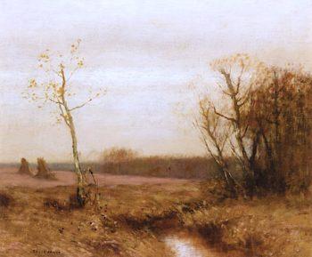 Autumn Landscape | Bruce Crane | oil painting