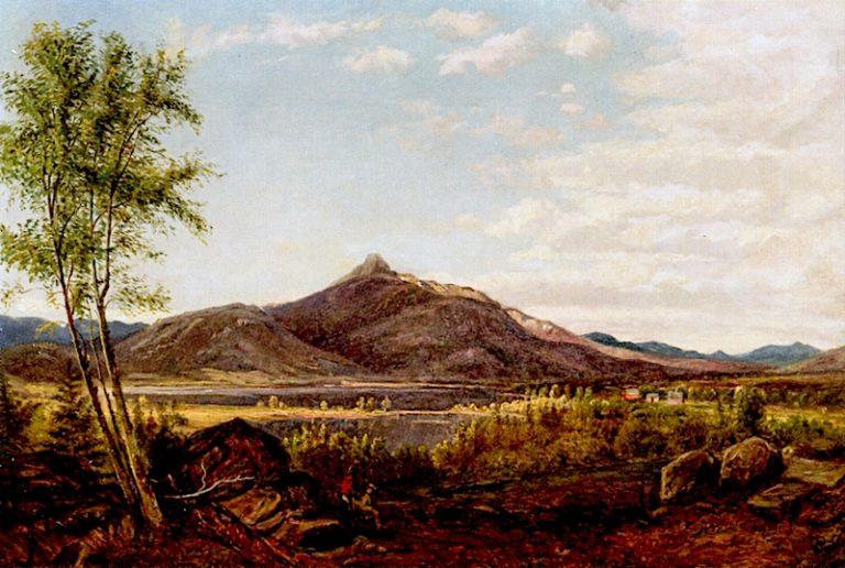 Lake Chocorua and Mount Chocorua | Alexander Helwig Wyant | oil painting