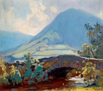 Lake District Scene | John William Howey | oil painting
