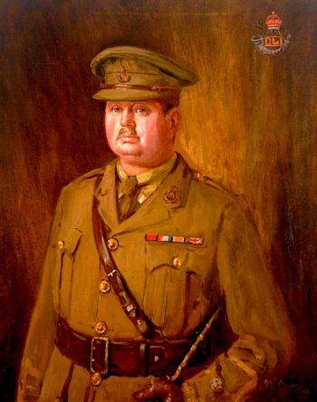 Major J. A. Louis Downey | John William Howey | oil painting