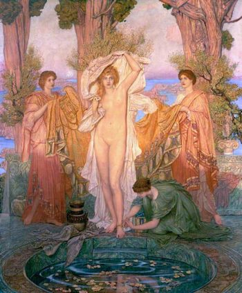 The Bath of Venus | Sir William Blake Richmond | oil painting