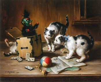 Jack in the Box | Carl Reichert | oil painting