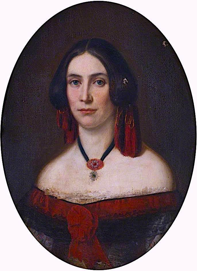 Lady Marian Malet   Sir William Blake Richmond   oil painting