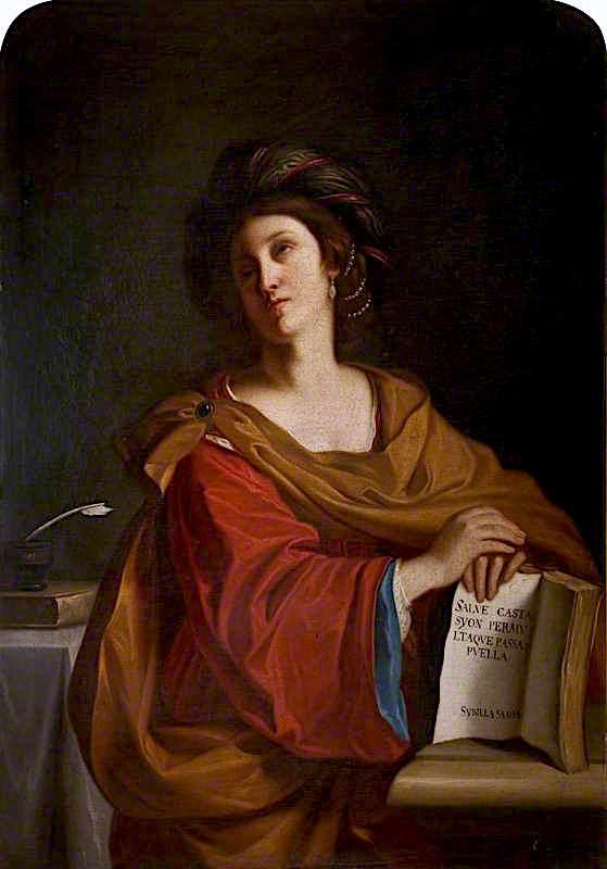 A Sibyl | Sir William Blake Richmond | oil painting