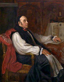 Joseph Barber Lightfoot   Sir William Blake Richmond   oil painting
