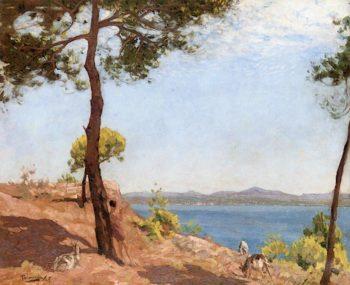 The Goat Herder | Algernon Talmage | oil painting