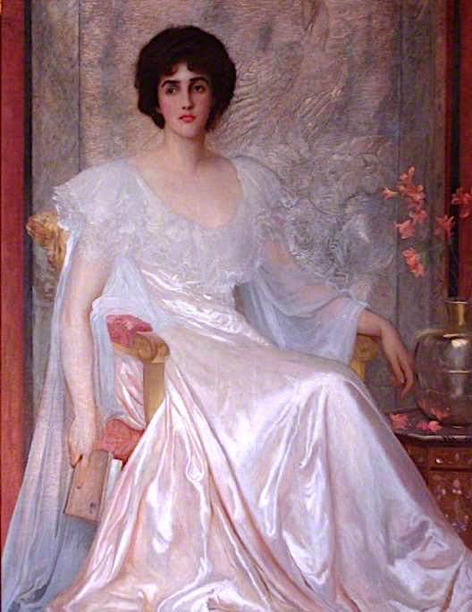Miss Muriel Wilson | Sir William Blake Richmond | oil painting