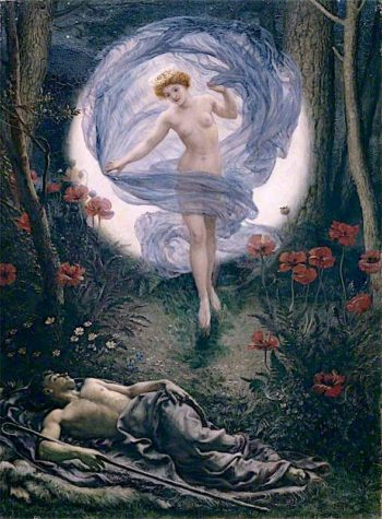 Diana and Endymion | Sir Edward John Poynter | oil painting