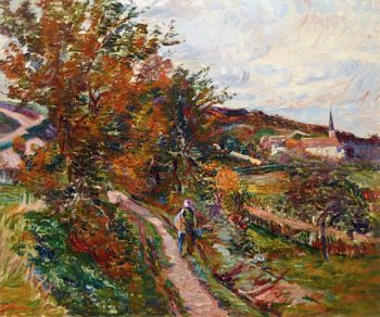 Path in Palaiseau | Armand Guillaumin | oil painting
