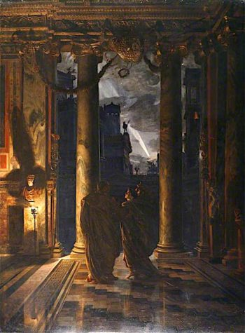 The Ides of March | Sir Edward John Poynter | oil painting