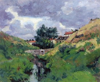 Landscape of Ile - de - France
