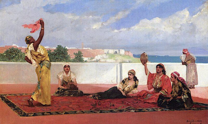 The Scarf Dance | John Joseph Benjamin Constant | oil painting