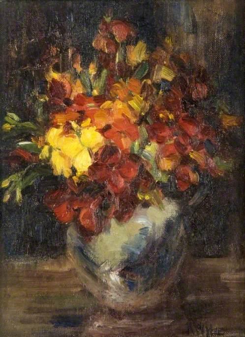 Wallflower | Kate Wylie | oil painting