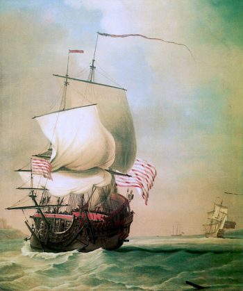 An English East Indiaman