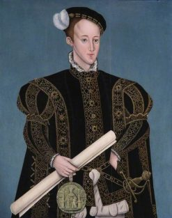 Edward VI | Sampson Strong | oil painting
