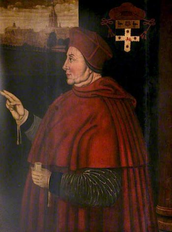 Cardinal Thomas Wolsey | Sampson Strong | oil painting
