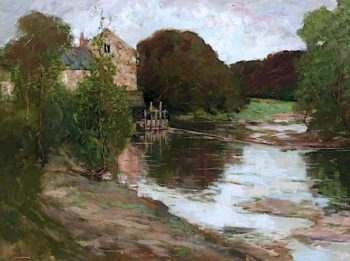 The Old Mill | Grosvenor Thomas | oil painting