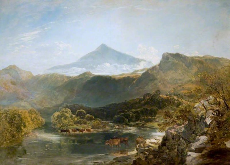 Ben Nevis and Mountain Stream | William Shayer Snr | oil painting