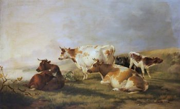 Cattle | William Shayer Snr | oil painting