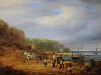 Coast Scene | William Shayer Snr | oil painting