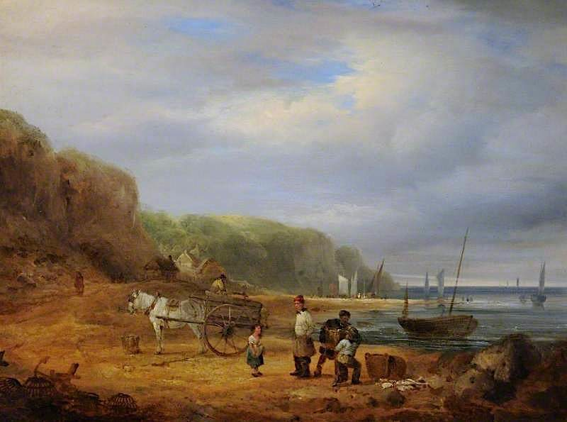 Coast Scene | William Shayer Snr | oil painting