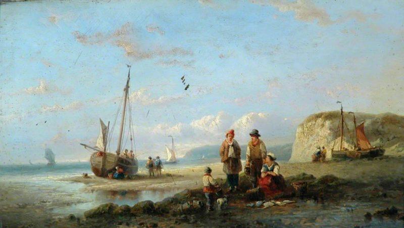 Coastal Scene | William Shayer Snr | oil painting