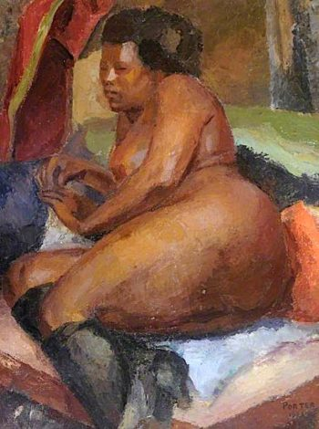 Negress | Frederick James Porter | oil painting