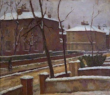 Hanover Square | Frederick James Porter | oil painting