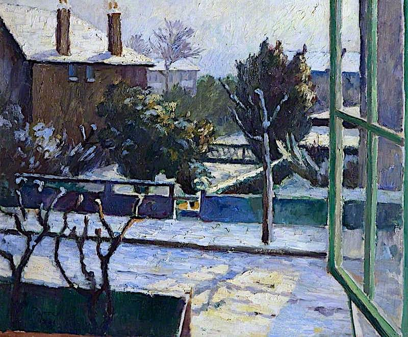 A View from the Artists Studio | Frederick James Porter | oil painting