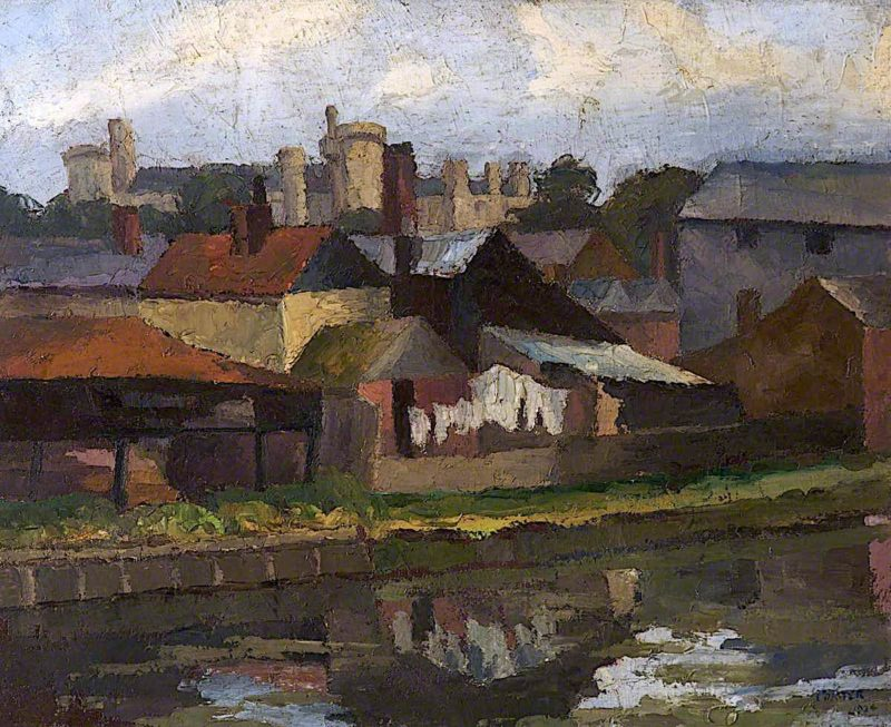 Arundel | Frederick James Porter | oil painting