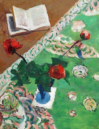 Roses   Frederick James Porter   oil painting
