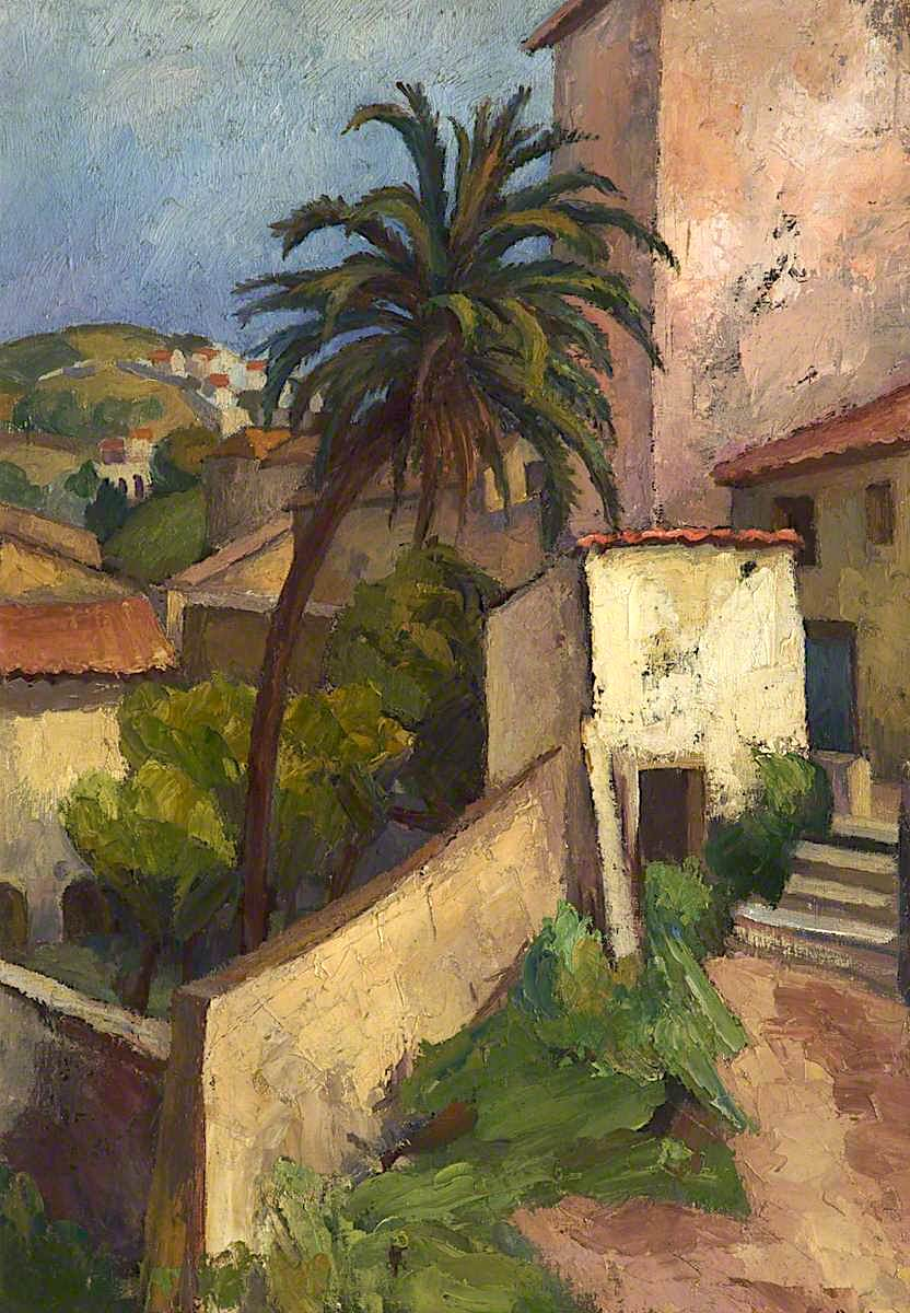 Moroccan Garden Painting Frederick James Porter Oil Paintings