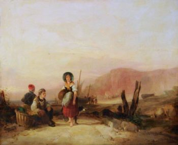 Fishermans Children near Blackgang